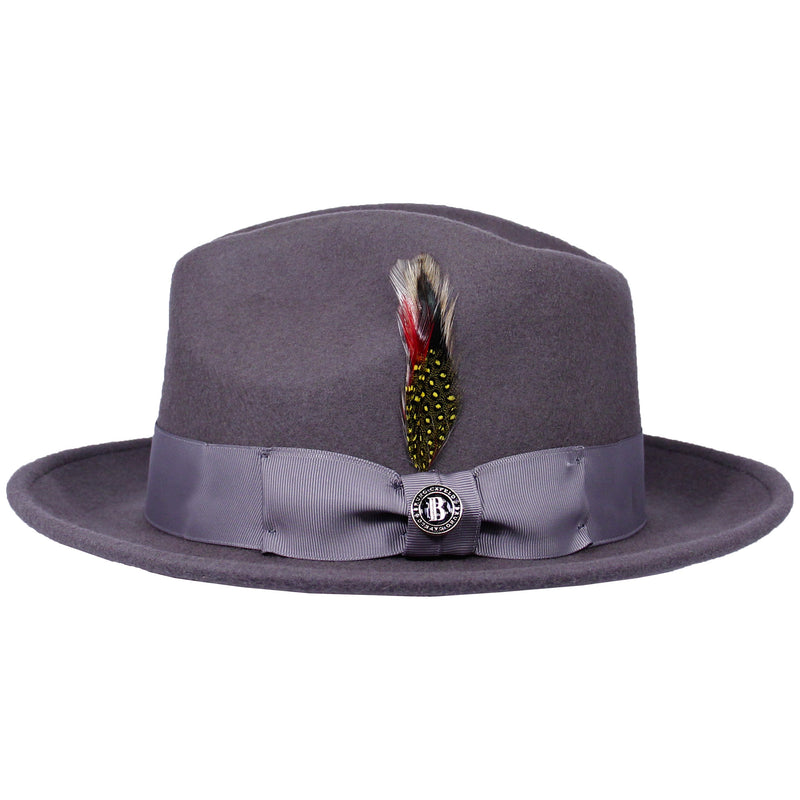 Steel Grey Executive Bruno Capelo Hat
