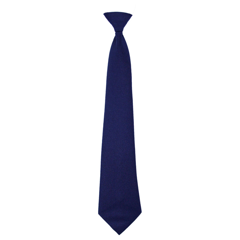 Navy Adjustable tie with Velcro closure