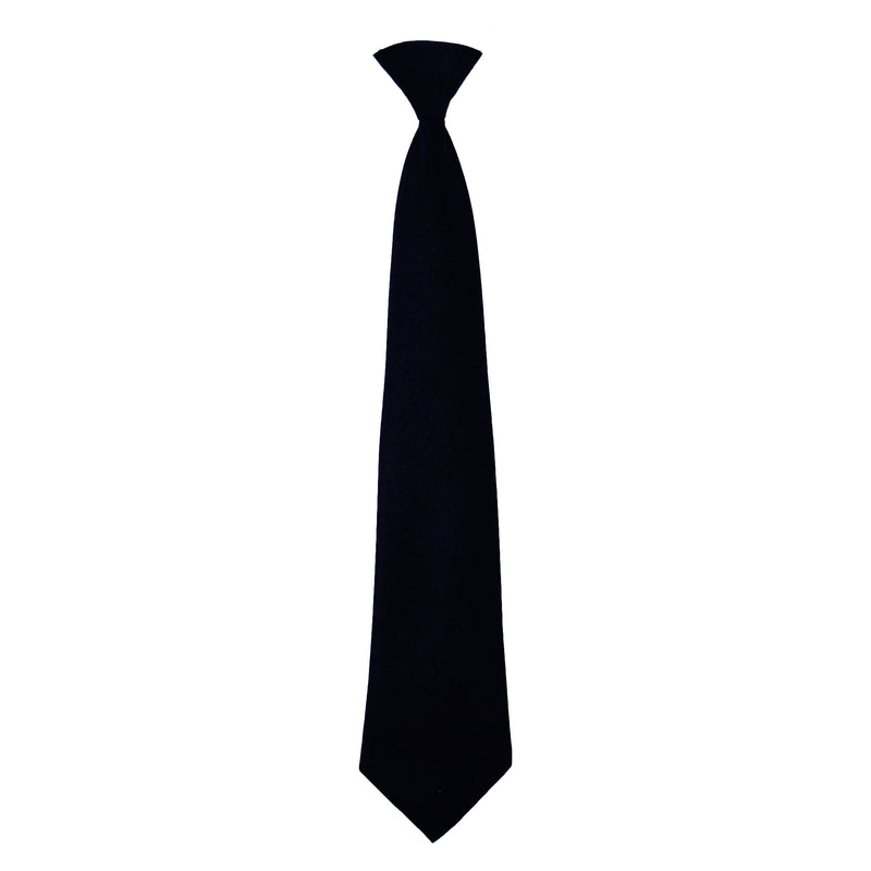 Black Adjustable tie with Velcro closure