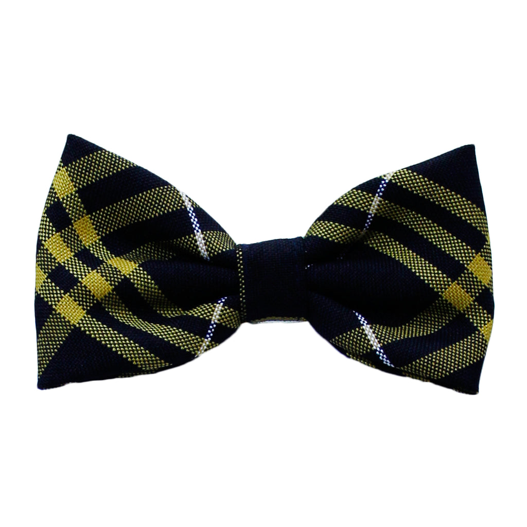 Black/Yellow Bow Tie