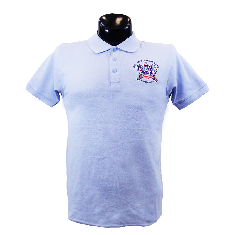 Eisenhower Lt Blue Polo
