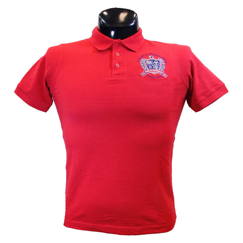 Eisenhower Red Polo