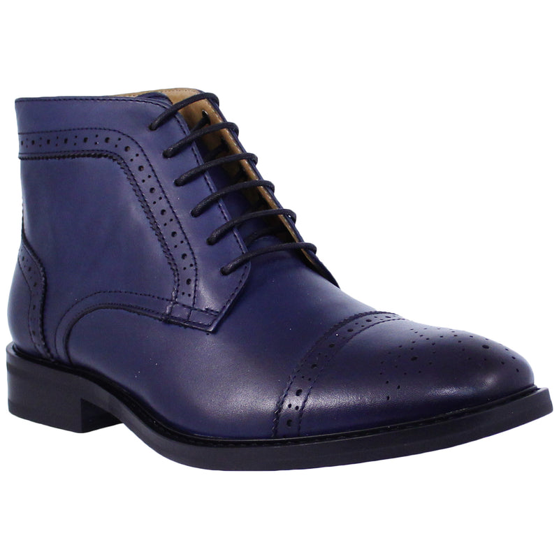 Navy Oxford Boot La Milano