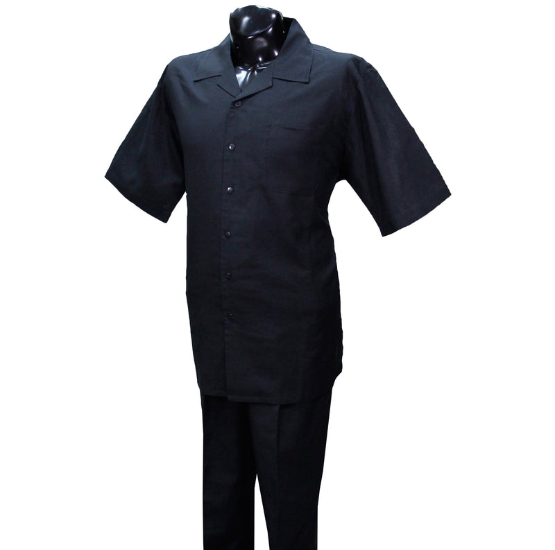 Black 2pc. Linen Sets