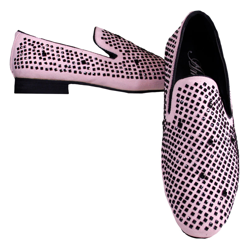 Pink Devy Amali Slip On Dress Shoes