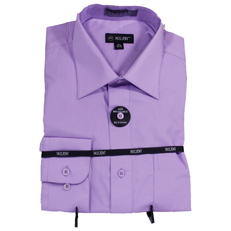 Purple Milani Dress Shirt