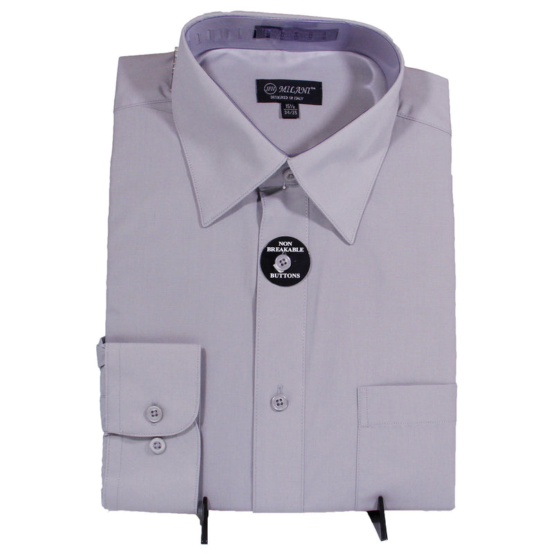 Grey Milani Dress Shirt