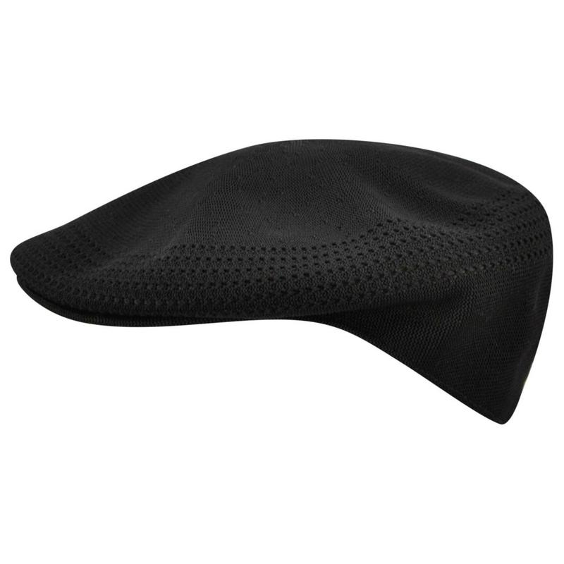 Black Kangol 504 Ventair Hat
