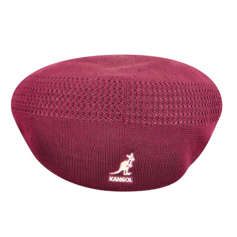 Burgundy Kangol 504 Ventair Hat