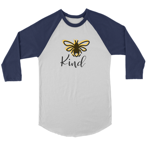 Bee Kind Women's Baseball T-shirt