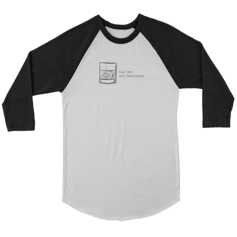 Image of Call Me Old-Fashioned Women's Baseball Shirt