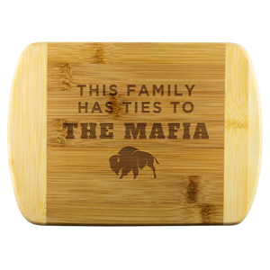 This Family Has Ties To The Mafia Kitchen Cutting Board - Buffalo Bills, Bills Mafia
