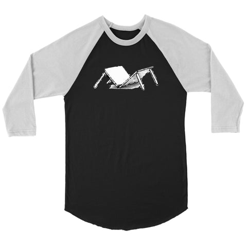 T-shirt - Broken Table Raglan Baseball Shirt