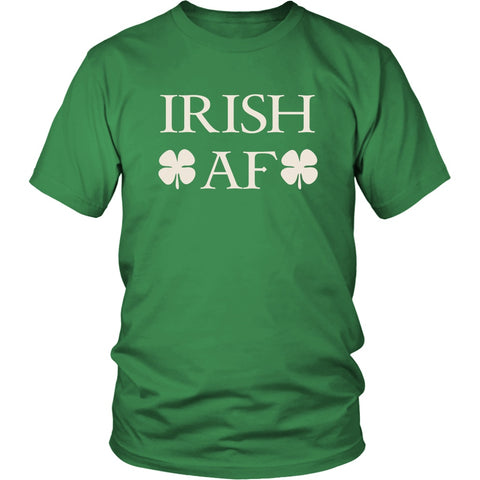 Image of T-shirt - Irish AF St. Patrick's Day Funny Tshirt