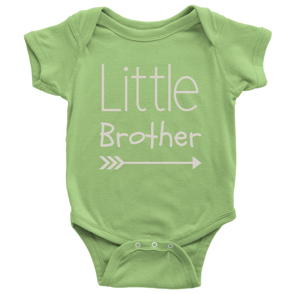 T-shirt - Little Brother Cute Onesie - Infant Gift, Newborn Gift, Baby Gift