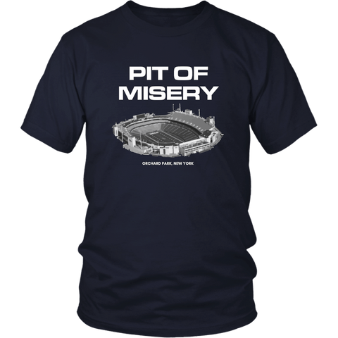 Image of T-shirt - Pit Of Misery Buffalo Bills Long Sleeve Shirt - Bills Mafia Short Sleeve Shirt - Dilly Dilly Short Sleeve Shirt