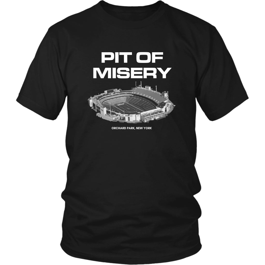 T-shirt - Pit Of Misery Buffalo Bills Long Sleeve Shirt - Bills Mafia Short Sleeve Shirt - Dilly Dilly Short Sleeve Shirt