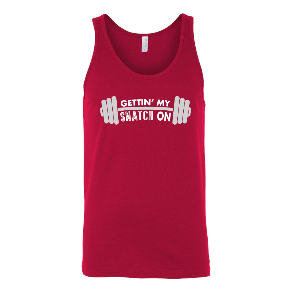 T-shirt - Snatch Crossfit Weightlifting Workout Unisex Tank Top - Fitness, Clean And Jerk, Power Clean