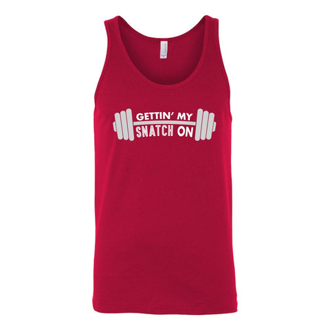Image of T-shirt - Snatch Crossfit Weightlifting Workout Unisex Tank Top - Fitness, Clean And Jerk, Power Clean