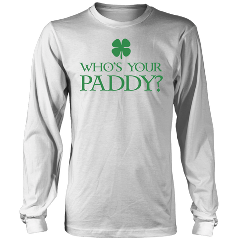 "Image of T-shirt - St. Patrick's Day Drinking Shirt ""Who's Your Paddy"" - St. Patrick's Day Shirt"