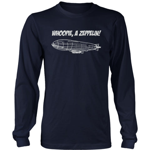 "T-shirt - ""Whoopie, A Zeppelin"" Short And Long Sleeve T-Shirt - A Christmas Story"