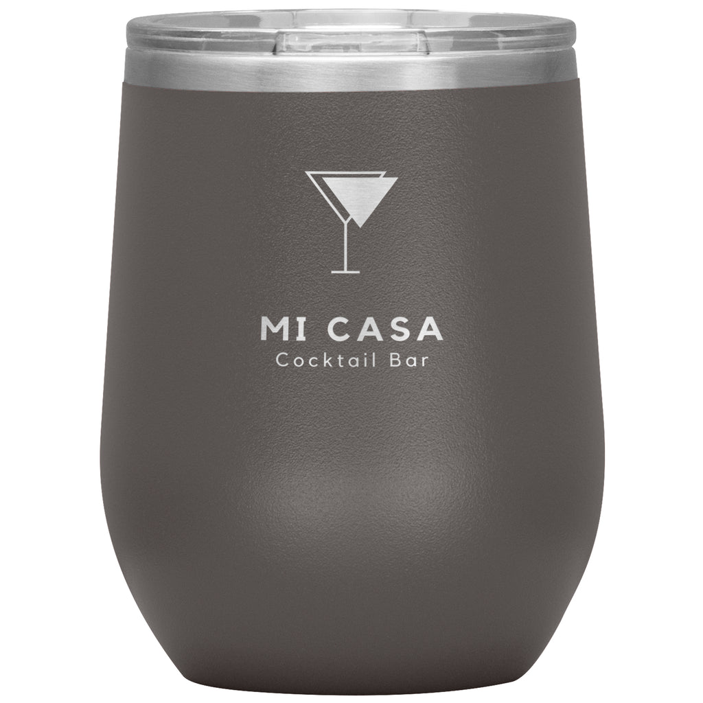 Wine Tumbler - Mi Casa Cocktail Bar Wine Tumbler