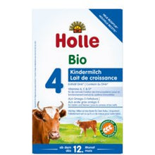 Load image into Gallery viewer, HOLLE BIO Stage 4 Toddler Milk (600g) Formula Organic Formula betterorganicformula