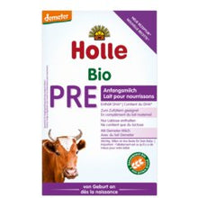 Load image into Gallery viewer, HOLLE BIO Stage PRE Organic Infant Milk (400g) Formula Organic Formula betterorganicformula 1 Pack