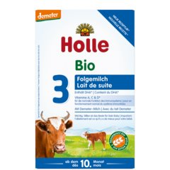 Holle Organic Cow TODDLER Formula Stage 3 (600g) Organic Formula betterorganicformula 1 Pack