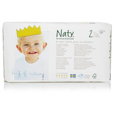 Naty Biodegradable ECO Diapers Size 2, 6-13lbs betterorganicformula.com