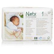 Naty Newborn Biodegradable ECO Diapers, Size 1, 4-11lbs Diapers and Wipes betterorganicformula.com