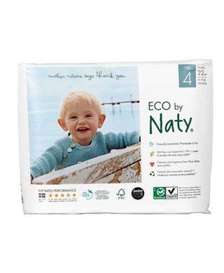 Naty Training Pull On Pants, Size 4, 18-33lbs, (22 pieces) betterorganicformula.com