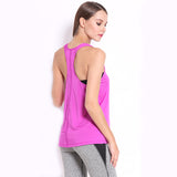 New Women's Stretchy Racerback Yoga Tops