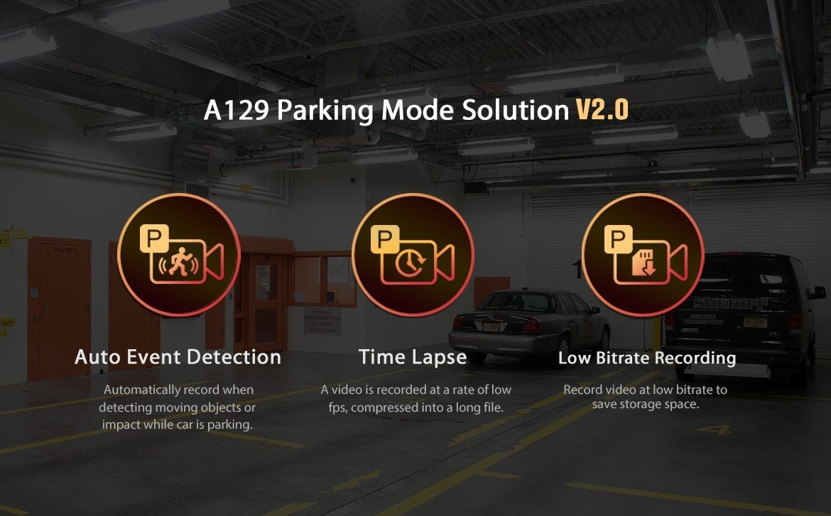 A129 Parking Mode V2.0 Introduction