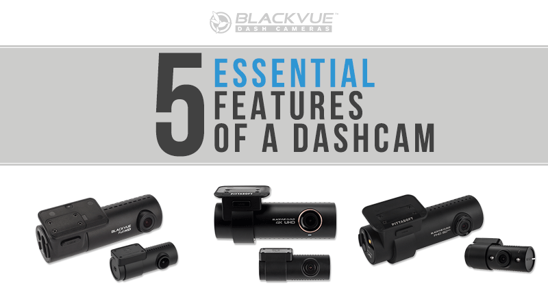 [Blackvue]5 Essential Features to Look for in a Dashcam
