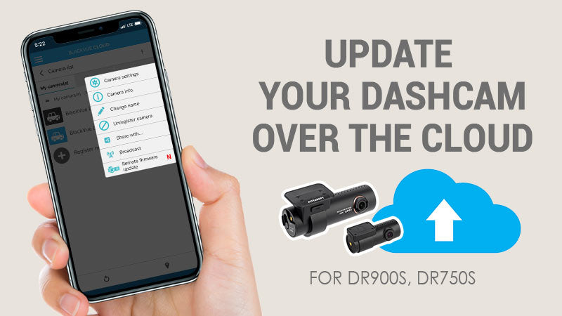 Upgrade Your Dashcam Firmware Over the Cloud with Cloud FOTA