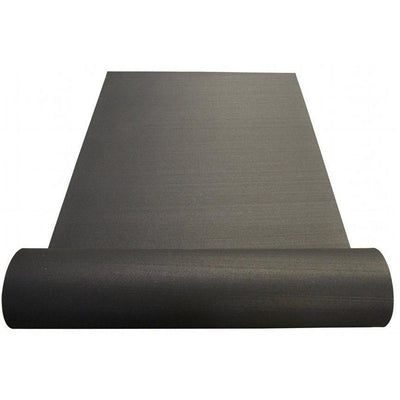 3/8'' Black Rolled Rubber Flooring (PTR38BLACK)