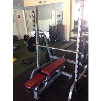 Life Fitness Pro 2/ Signature Package w/ Hammer Strength Benches- Excellent Condition! (LFPro2pack)