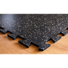 3/8 Interlocking Mat Beveled Corner with 20% fleck 4-x-4 (PTTI3820BC)
