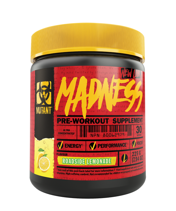 Mutant Madness Pre Workout - 30 Serve