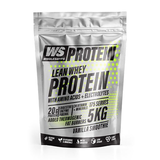 Lean Whey Protein by Wholesupps - Protein Powder - WholeSupps Online Mega Store