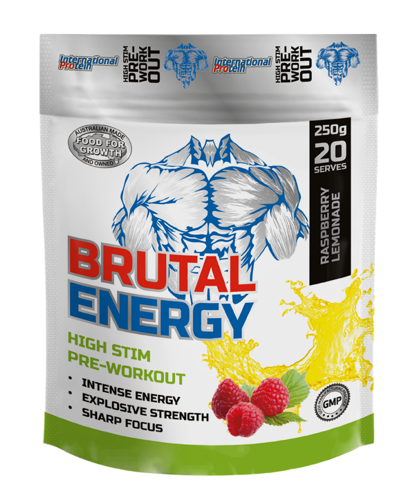 International Protein Brutal Energy High Stim - Pre Workouts - WholeSupps