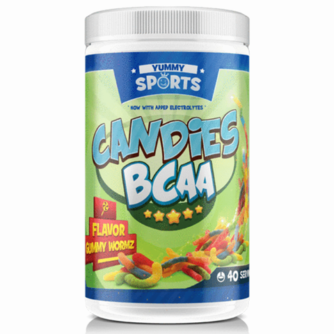 Yummy Sports Candies BCAA (280g - 40 Serves) - BCAA's / Amino Acids - WholeSupps