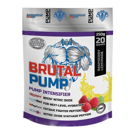 Brutal Pump by International Protein - Pre Workouts - WholeSupps Online Mega Store