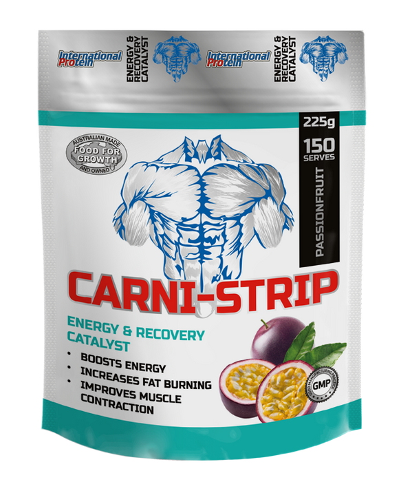 Carni-Strip by International Protein - Amino Acid - WholeSupps Online Mega Store
