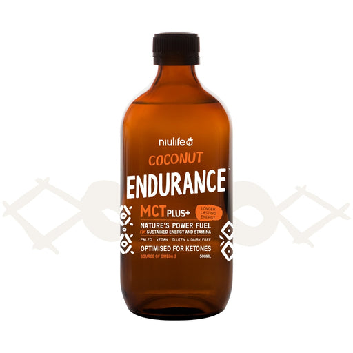 Coconut Endurance MCT Plus+ - 500ml Glass Bottle - General Health / Vitamins - WholeSupps Online Mega Store