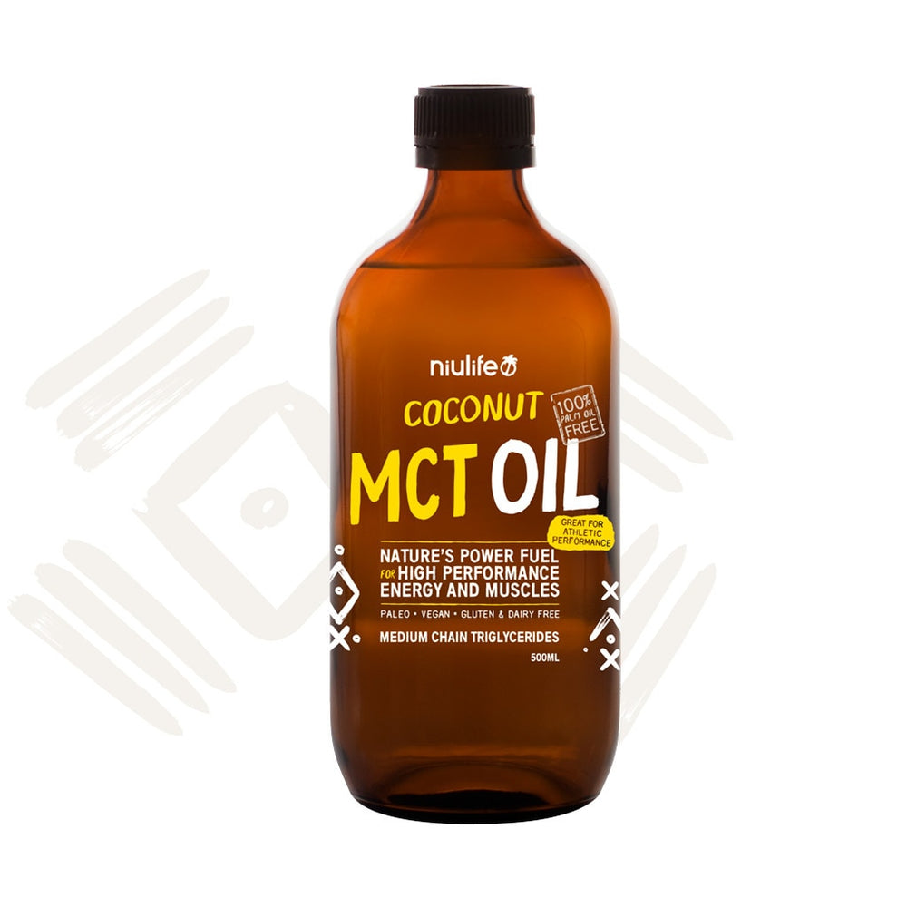 Coconut MCT Oil - 500ml Glass Bottle - General Health / Vitamins - WholeSupps Online Mega Store