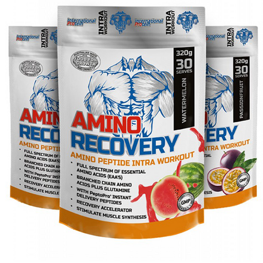Amino Recovery by International Protein - Workout & Training Support - WholeSupps Online Mega Store