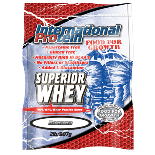 Superior Whey protein by International Protein - Protein Powder - WholeSupps Online Mega Store