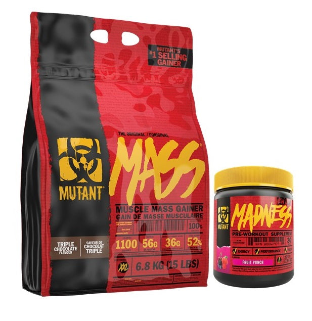 Mutant Mass Gainer with FREE Mutant Madness